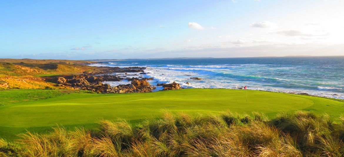 King Island and Barnbougle