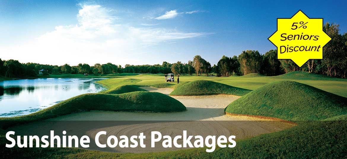 Sunshine Coast Stay & Play Packages